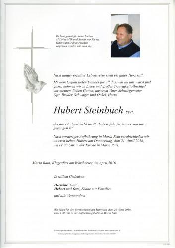 Hubert Steinbuch sen.