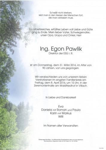 Ing. Egon Pawlik