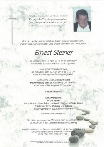 Ernest Steiner