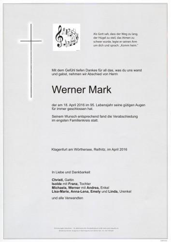 Werner Mark