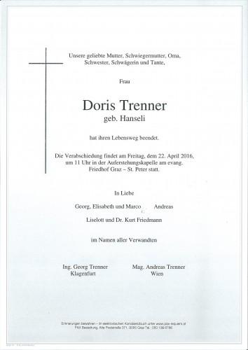 Doris Trenner