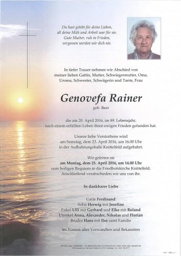 Genovefa Rainer