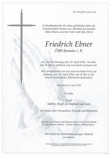 Friedrich Ebner