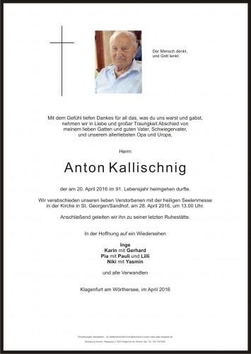 Anton Kallischnig
