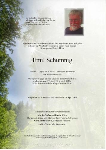 Emil Schumnig