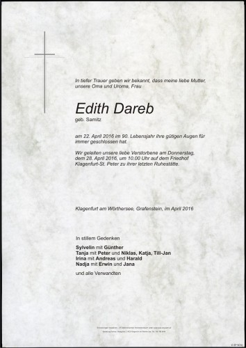Edith Dareb