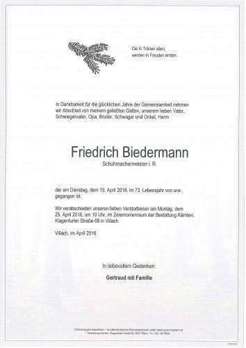 Friedrich Biedermann