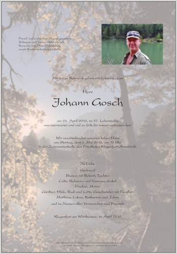 Johann Gosch