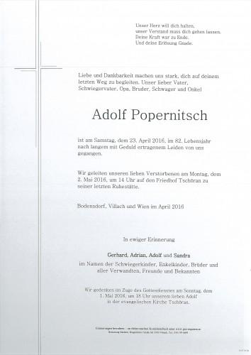 Adolf Popernitsch