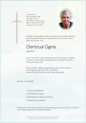 Gertrud Ogris