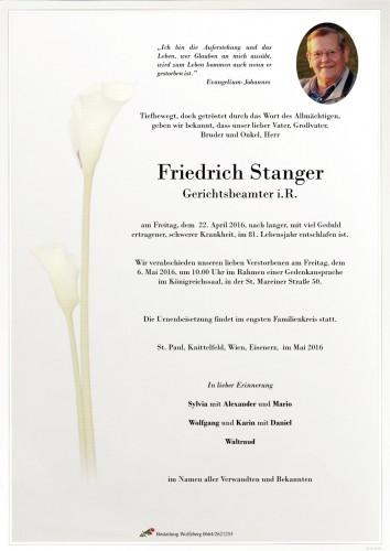 Friedrich Stanger