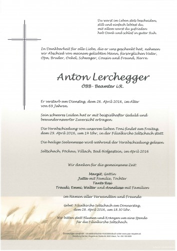 Anton Lerchegger