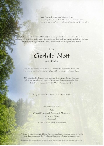 Gerhild Nott