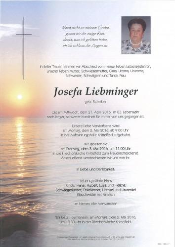 Josefa Liebminger