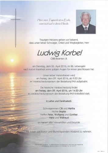 Ludwig Korbel