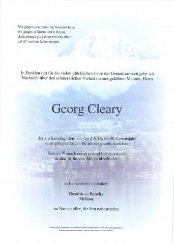 Georg McAlpine Cleary