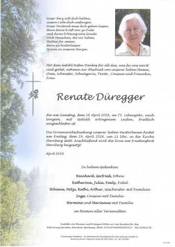 Renate Düregger