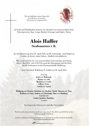 Alois Haßler