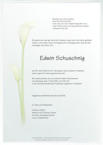 Edwin Schuschnig