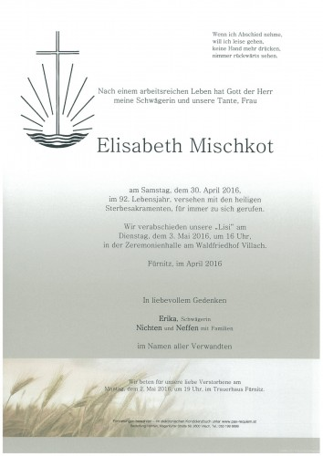Elisabeth Mischkot