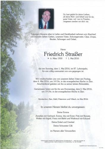 Friedrich Straßer