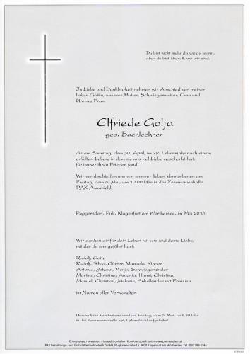 Elfriede Golja