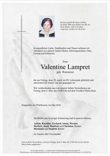 Valentine Lampret