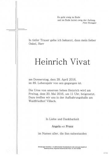 Heinrich Vivat