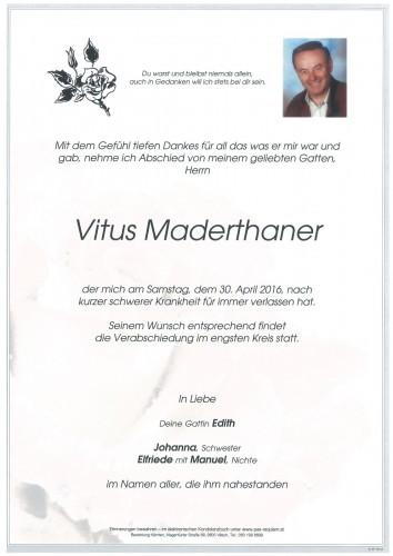 Vitus Maderthaner