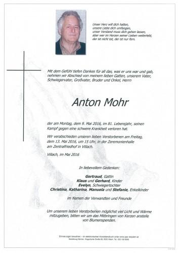 Anton Mohr