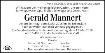 Gerald Mannert