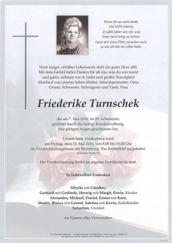 Friederike Turnschek