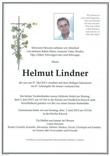 Helmut Lindner