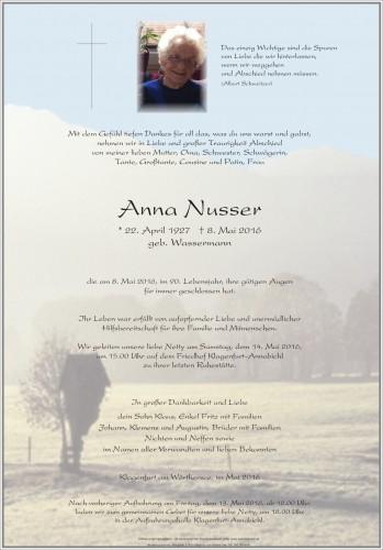 Anna Nusser