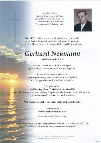 Gerhard Neumann