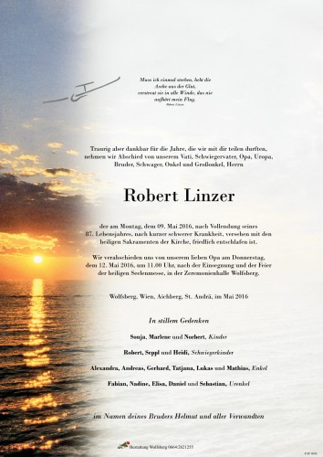 Robert Linzer