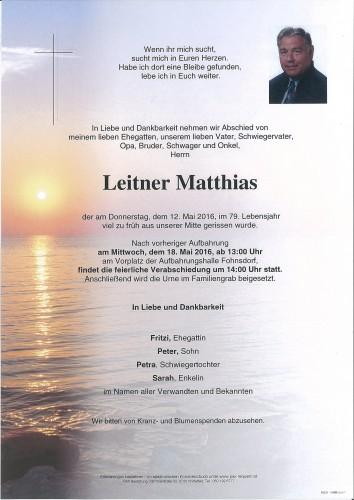 Matthias Leitner