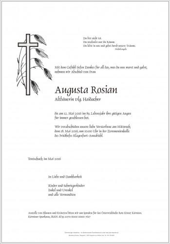 Augusta Rosian