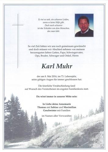 Karl Muhr