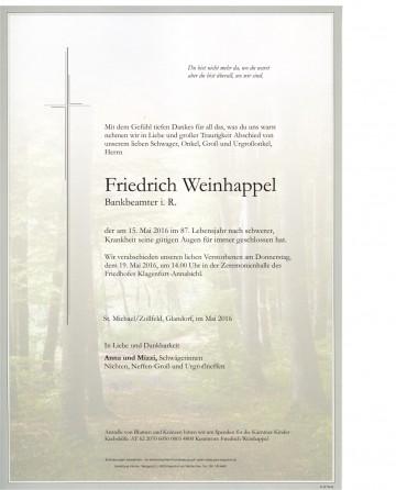 Friedrich Weinhappel