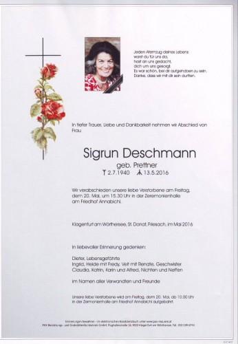 Sigrun Deschmann