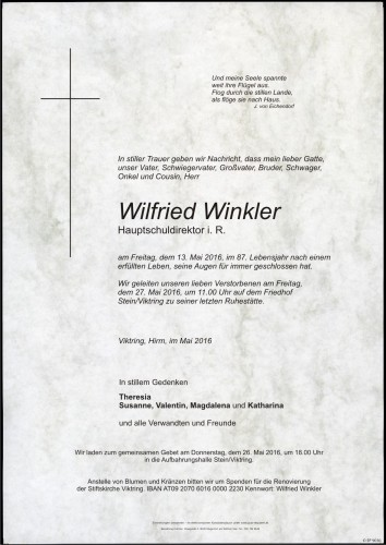 Wilfried Winkler