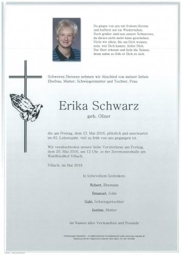 Erika Schwarz geb. Ofner