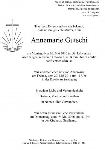 Annemarie Gutschi