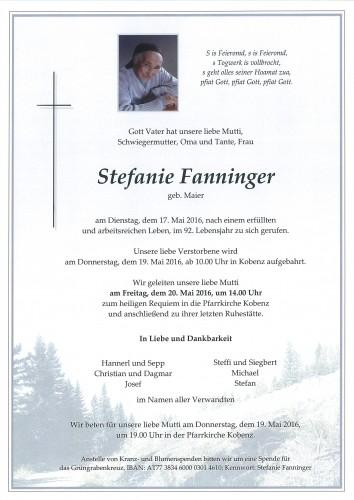 Stefanie Fanninger