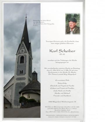 Karl Scheiber