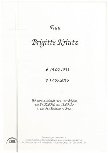 Brigitte Kriutz
