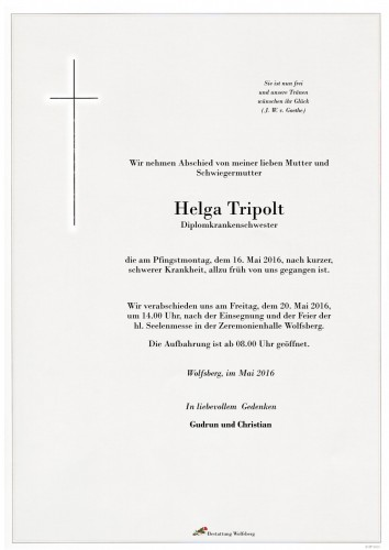 Tripolt Helga Christiane