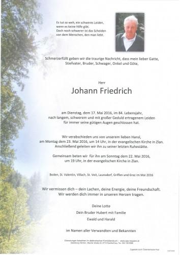 Johann Friedrich