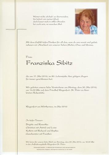 Franziska Sibitz